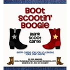 Boot Scootin' Boogie--Blank Cards for Scoot Game