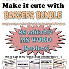 Borders Bundle Make it cute!