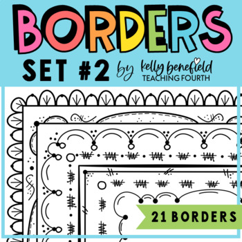 Borders By Kelly B. Set 2