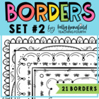 Borders- By Kelly B. Set 2