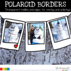 Borders Polaroid