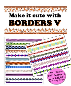 Borders V - Make it cute!