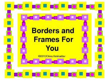 Borders and Frames For You