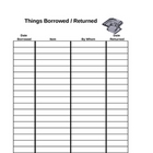 Borrowed and Returned Tracker (chart)