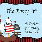 "Bossy ""R"" Pirate - Book and Literacy Centers for r-control"
