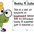 Bossy R Syllables in Just 5 Minutes a Day