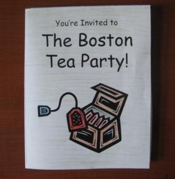 Boston Tea Party Invitation