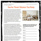 Boston Tea Party Podcast Internet Activity
