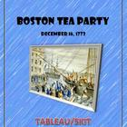 Boston Tea Party:  Tableau/Skit  Fun Stuff!