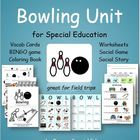 Bowling Unit for Special Education