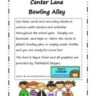 Bowling for Math Center Kit