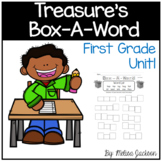 """Box-A-Word """"Treasures"""" Spelling Practice Unit 1, First Grade"""