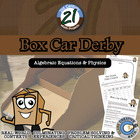 Box Car Derby -- STEM Project
