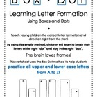 Box Dot: Learning Letter Formation