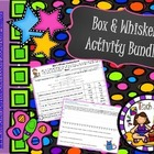 Box and Whisker Plot Activity Bundle with Graph and Color