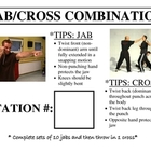 Boxing/Kickboxing (Boxercise) Station Cards