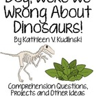 Boy, Were We Wrong About Dinosaurs!, Questions, Projects a