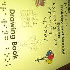 Braille Holiday and Special Events Drawing Book