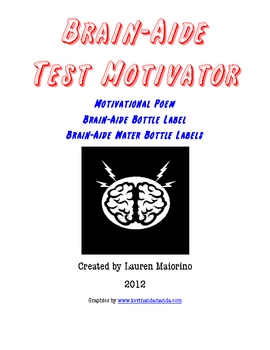 Brain-Aide Test Taking Motivational Tool
