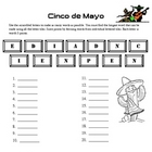 Brain Bending Word Game- Cinco de Mayo