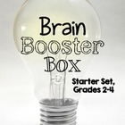 Brain Booster Box Cards {Free}