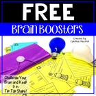 Brain Boosters Sampler {Freebie}