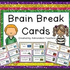 "Brain Break Cards ""Get Up and Move!"""