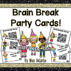 Brain Break Party Cards {Limited Edition Freebie}