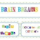 Brain Breaks Cards (with Spanish translations)
