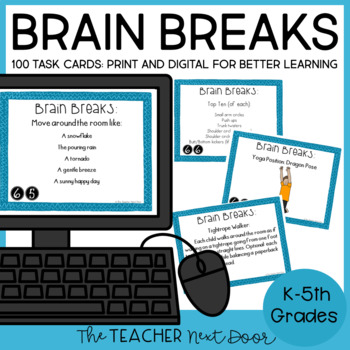 Brain Breaks: Games, Exercises, and Creative Movement for Better Learning