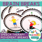 Brain Breaks (Movement Breaks) for Speech Therapy