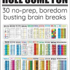 Brain Breaks and Indoor Recess Ideas