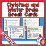 Brain Breaks for Christmas and Winter - FREE!