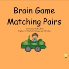 Brain Game Matching Pairs