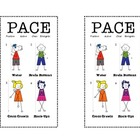 Brain Gym Pace Bookmark