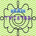Brain Twister {Critical Thinking Activity}