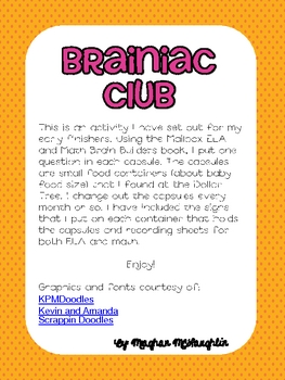 Brainiac Club