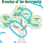 Branches of Government - Social Studies - 18x24 Poster