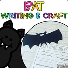 Brandon the Bat { Animal Craftivity and Writing Prompts! }
