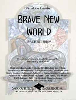 Brave New World Literature Guide: Common Core Aligned Teac