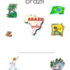 Brazil worksheets for primary students