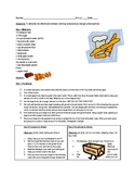Bread and Butter Lab - Chemical & Physical Changes