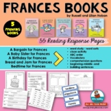 Literacy and Word Work- Frances Books by Russell Hoban - G