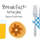 Breakfast Antonyms