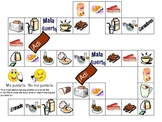 Breakfast foods Board Game and Reference Sheets