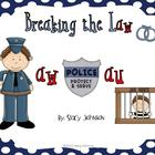 Breaking the Law {aw} {au} Literacy Centers