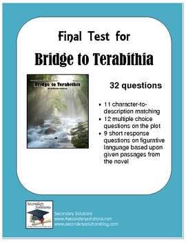 Bridge to Terabithia Final Test: 32 Questions