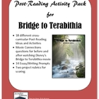 Bridge to Terabithia Post-Reading Ideas and Activities