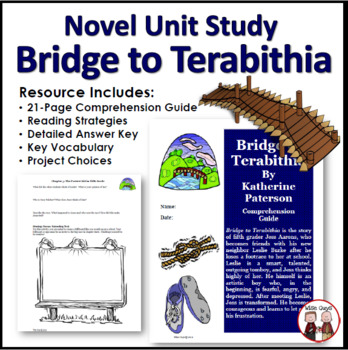 Bridge to Terabithia Reading Comprehension Activity Guide