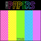 Bright Business! Digital Papers {44 backgrounds for person